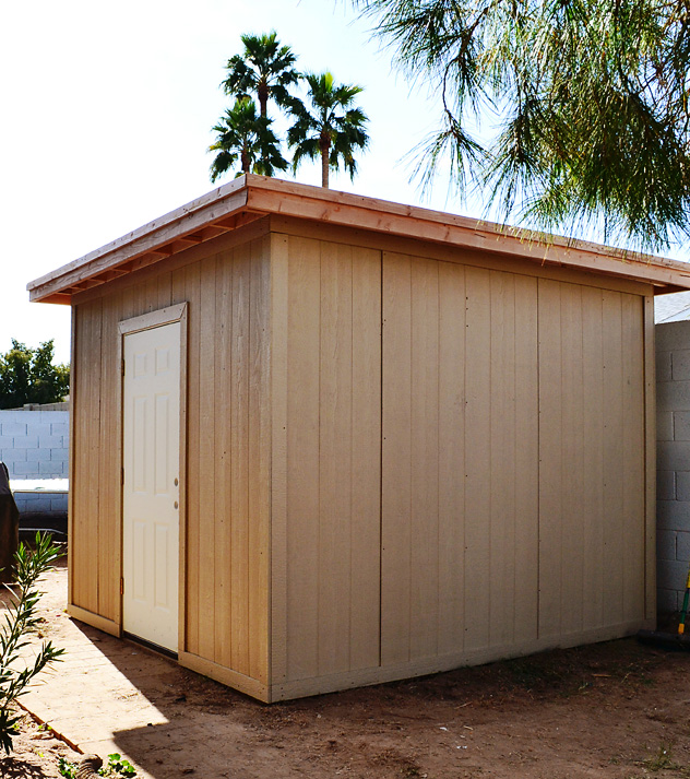 The New Shed — Part Three