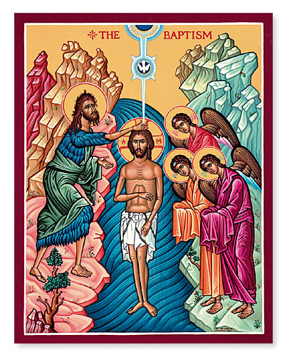 January 12: Feast of the Baptism of the Lord