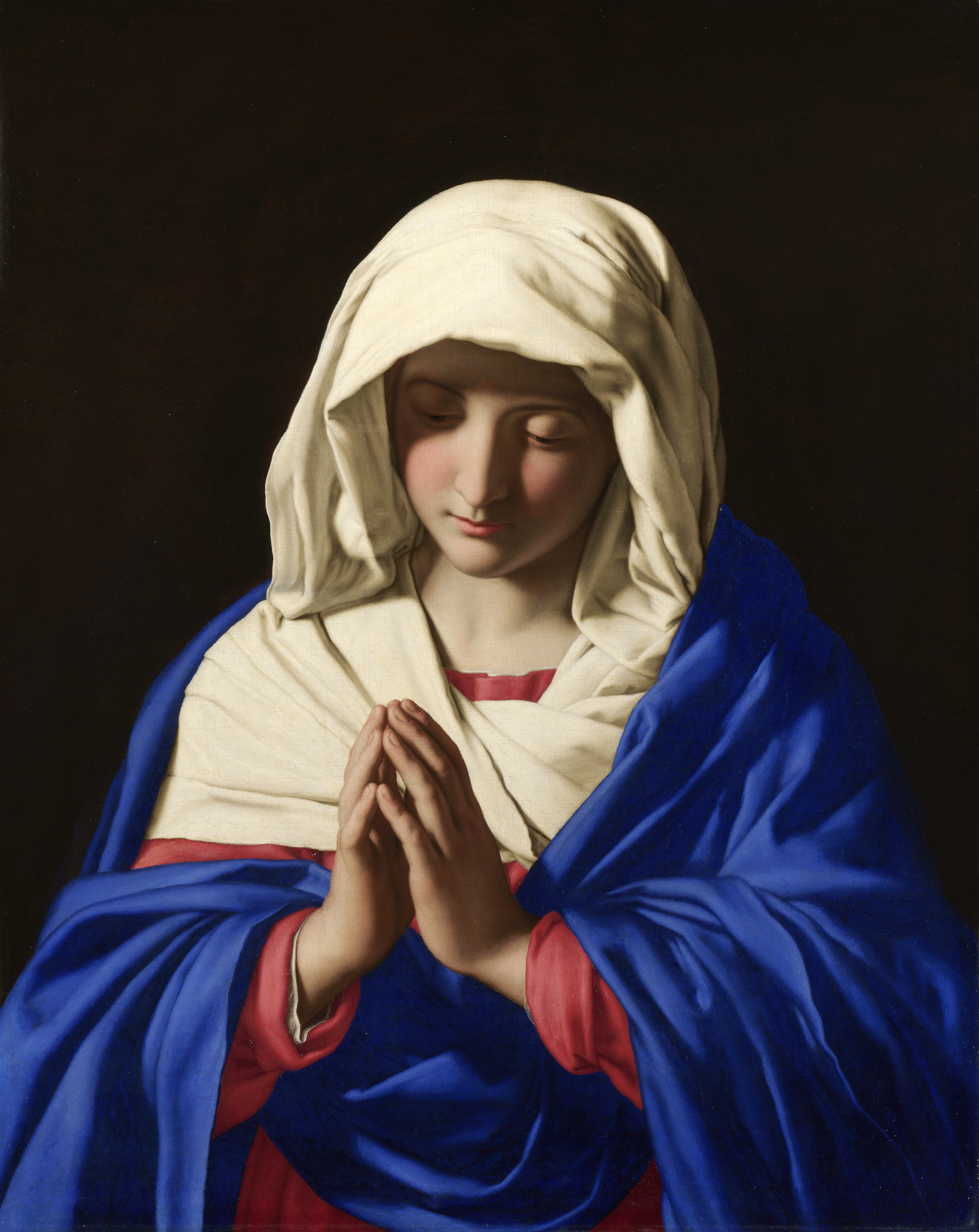The Blessed Virgin compared to the Air we Breathe